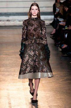 Every look from Alessandro Dell'Acqua's debut show for Rochas autumn/winter 14 http://www.harpersbazaar.co.uk/fashion/catwalk/paris-fashion-week-rochas-autumn-winter-14#slide-1