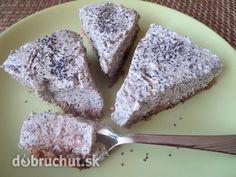Fotorecept: Nepečený makovo-tofu koláč