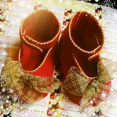 Red Cute Baby Shoes