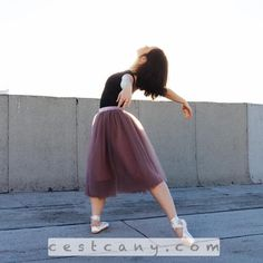 Would you dance in your tulle skirt?