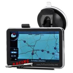 Navegador GPS de 4.3 Pulgadas para Coche con Memoria de 4GB Audio/Vídeo -- 52,24€