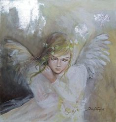Ange by dorina costras Seraph Angel, Angel Sculpture, I Believe In Angels, Psy Art, Angels Among Us, Angel Pictures, Angels In Heaven, Angel Art, Cherub