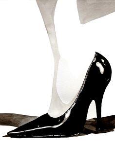 Miu Miu Shoe by Madeleine Carroll