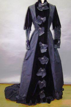 Late 1870's Bustle Era Dress