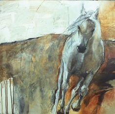 karen roehl art   Karen Roehl Fine Art Paintings   Horses 1 (Study)