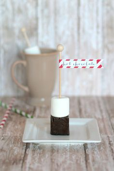 Hot Chocolate on a Stick | Friday Favorites