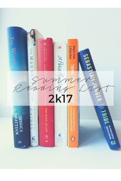 Lifestyle blog C'est La Vie's summer reading choices! Click the link to take a look at all the book choices and links to order online digitally or paperback version! Treat Yo Self!