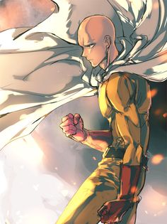 Saitama || Check out my OPM review ~ http://www.theyorouzoya.com/2016/01/OnePunchMan.html