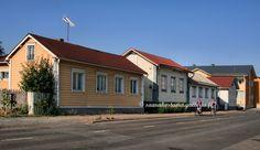 Raahe, Sovionkatu street. Northern Ostrobothnia - Pohjois-Pohjanmaa - Norra Österbotten