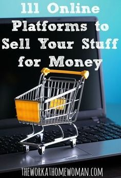 If you're looking to make some extra money, declutter your home, or simplify your life, here are 111 online platforms where you can sell your new and used stuff for money. Money Making Ideas #Money