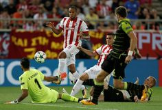 (adsbygoogle = window.adsbygoogle || ).push({});  Watch Sporting vs Olympiakos Piraeus Soccer Live Stream  Live match information for : Olympiakos Piraeus Sporting UEFA Champions League - Group Stage Live Game Streaming on 22-Nov.  This Soccer match up featuring Sporting vs Olympiakos Piraeus is scheduled to commence at 20:45 UK - 01:15 IST.   #Olympiakos Piraeus 2017 Highlights #Olympiakos Piraeus 2017 Prediction #Olympiakos Piraeus 2017 Predictions #Olympiakos Piraeu