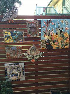 Some of my unique mosaic art-works on my Kara-Mia's Mosaics Gallery wall Mosaic Art, Mosaics, Beautiful Sunrise, Bird Watching, Kara, Kayaking, Gallery Wall, Pottery, Island