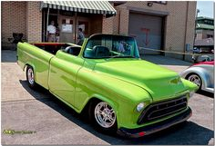 57 Chevy 3100 Roadster