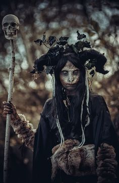 Baba Yaga, a close relative to the more ancient Scythian Midnight Sun Goddess, Tibiti