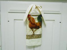 Kitchen Hand Towel Tie On Towel Towel With Ties By AkornShop,