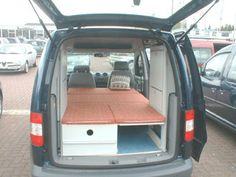 C-tech: Campingvan - Minicamper - VW Caddy - Camper, Camping (Tech Hacks) Camper Beds, Car Camper, Mini Camper, Camper Caravan, Camper Van, Ford Transit Connect Camper, Diy Van Furniture, Caddy Maxi Camper, Berlingo Camper