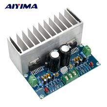 Promo Offer AIYIMA Audio Amplifier Board Digital Stereo Power Amplifier Board With Heatsink Dual Audio Box, Car Audio, Electronics Projects, Consumer Electronics, Home Theater Subwoofer, Powered Subwoofer, Stereo Amplifier, Electronic Engineering, Shop Layout