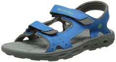 Columbia Childrens Techsun Vent Sandal (Toddler/Little Kid),Dark Compass/Nuclear,8 M US Toddler >>> Find out more details by clicking the image : Girls sandals