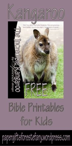 FREE Kangaroo printables for kids with Bible verse - stationery, poster, envelopes, bookmarks, note cards, notepaper, wallet cards, to do list | papergiftsforestefany.wordpress.com | #Compassion #CompassionInternational #letterwriting #childsponsorship #free #freeprintable #printable #printables #bibleverse #scripture #kids #bible #stationery #papergifts Kangaroo Kids, Child Sponsorship, Compassion International, Verses For Cards, Free Birthday, Teaching Aids, Free Bible, Bible For Kids, Letter Writing