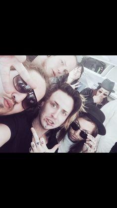 Seike, Freddy, Erick and Zave. Kerbera