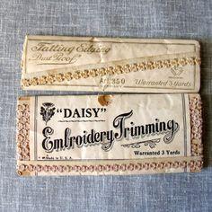 Vintage Tatted Edging Trim Original by DeborahsForgetMeNots, $8.00