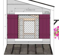 Free shed chicken coop plans! Chicken Coop Pallets, Easy Chicken Coop, Chicken Shop, Diy Chicken Coop Plans, Building A Chicken Coop, Building A Shed, Ana White, Traditional Sheds, Old Wood Windows