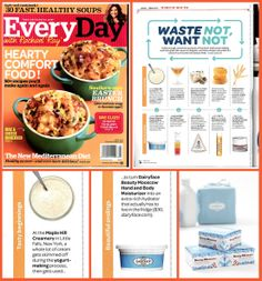 Yes...Tasty Beginnings do have Beautiful Endings. Especially when we're referring to our new Beauty Mooscow Hand & Body Moisturizer. We're very happy to be featured in the April 2014 edition of Every Day with Rachel Ray. Check it out!