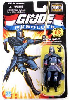 GI Joe Cobra Commander   , GI Joe Figures, GI Joe 25th Anniversary Toys, GI Joe 25th, GI Joe ...