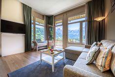 #lenkerhof #relaischateaux #5Sterneund1Krone #lenk #sichergömeridbärge #relax #feelathome #berge #view #loftsuite #suite Relax, Rooms, Windows, Curtains, Home Decor, Mountains, Bedrooms, Blinds, Decoration Home