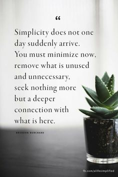 Apply to relationships, friendships, possessions, emotions, boundaries- Minimal Living, Simple Living, Image Citation, How To Remove, How To Apply, Minimalist Lifestyle, Slow Living, Frugal Living, Less Is More