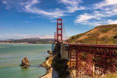 Vista Point  US-101, Golden Gate Bridge, Sausalito, CA 94965