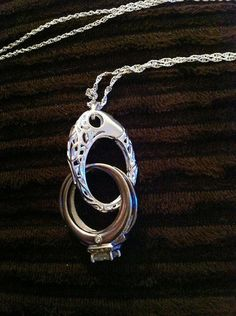 Pendant for when you take off your wedding ring...