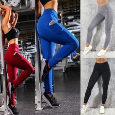 55d190fe24e7d Extra Off Coupon So Cheap Women Casual Solid Color Sporting Fitness Leggings  Yoga Skinny Trousers. Fashion ...