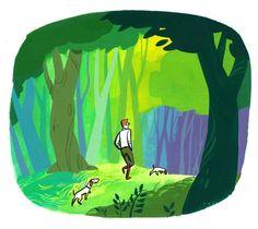 Forest Walks : illustrated by Satoshi Hashimoto www.dutchuncle.co.uk/satoshi-hashimoto