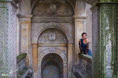 Basia in Golochow Castle by www.mokophotography.com