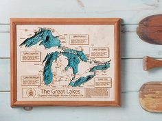 Personalized Wall Art and Cribbage Boards from Lake Art