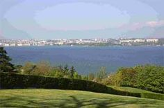 Geneva: stunning vista in a city setting European Breaks, Green Fields, Bournemouth, Geneva, Golf Courses, River, Park, City, Outdoor