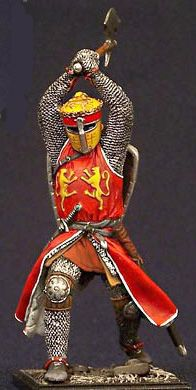 King Richard the Lion Heart (Palestine about 1190 AD) metal figurine from Russian Soldier Art Metal Figurines, Miniature Figurines, Military Figures, Military Diorama, English Knights, Norman Knight, Crusader Knight, Larp Armor, Hobbies For Men