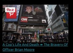 May 5, 2015   A New York City police officer died Monday from injuries sustained when a man shot him in the face on Saturday. Brian Moore, 25, died after two days in the hospital, according to the New York Daily News. He was sitting in an unmarked car Saturday when police say he was shot by Demetrius Blackwell, 35, of Queens. Blackwell was arrested Sunday. Moore was characterized as a hero by fellow officers. He leaves behind a father, an uncle and cousins who have served as officers, and…