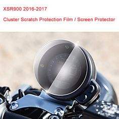 For Yamaha XSR900 2016-2017 Cluster Scratch Protection Film Screen Protector for Yamaha XSR900 2016-2017 #Affiliate