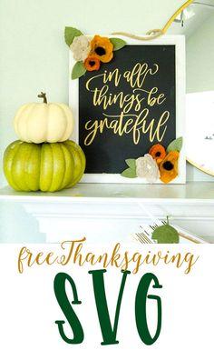 DIY Thanksgiving Sig