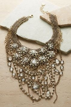 An amazing look, fit for the court, our Marquess Necklace is a masterpiece of craftsmanship.