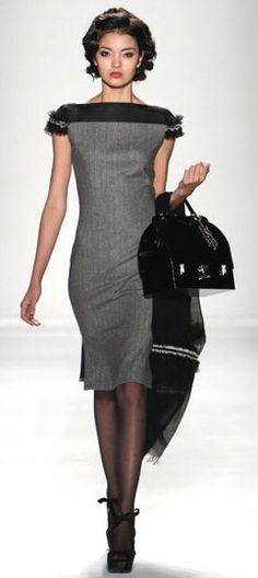 My Style: Grey #dress.
