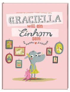 Graciella ist ein sehr selbstbewusstes kleines Nashornmädchen, das seinen Weg geht. Bilderbuch Rezension von @juliliest