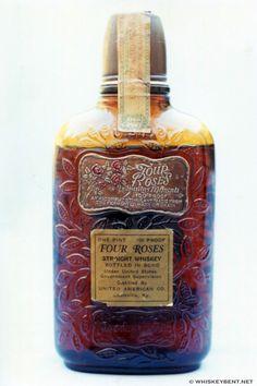 Four Roses Straight Whiskey Rye Whiskey, Cigars And Whiskey, Scotch Whiskey, Bourbon Whiskey, Whiskey Bottle, 4 Roses Bourbon, Whiskey Brands, Liquor Bottles, Magic Bottles