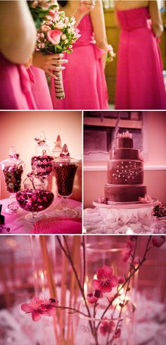 Chocolate and Strawberry Pink Wedding for Pink Week at SMP