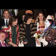 Pierre, Caroline, Stephanie, Pauline