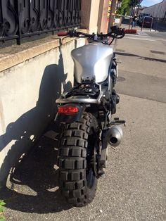 #37 - YAMAHA 600 Fazer #BFMotorcycles #BobberFucker Cb400 Super Four, Street Fighter Motorcycle, Gs500, Flat Tracker, Ducati Monster, Suzuki Gsx, Cafe Racer, Scrambler, Custom Bikes