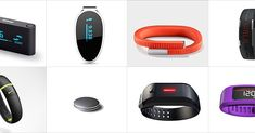 If anyone is looking for a fitness tracker here are a few of them. Band Together: 10 Gadgets That Track Your Fitness Stats
