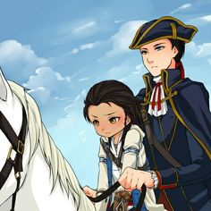 Connor and Haytham Assassins Creed Anime, Assains Creed, Cry Of Fear, Eagles Vs, Edwards Kenway, Family Album, Creatures, Fan Art, Videogames